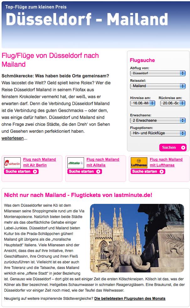 Düsseldorf:Mailand