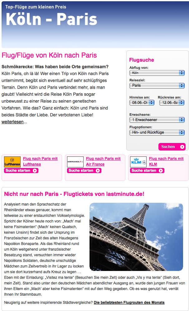 Köln:Paris