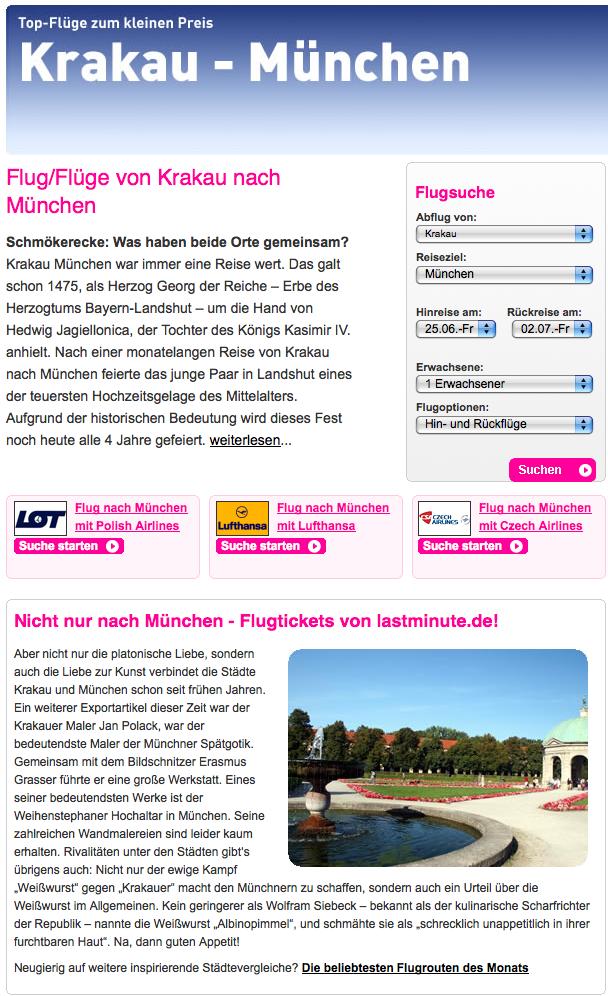 Krakau:München