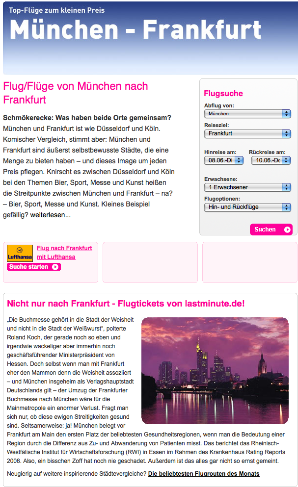 München:Frankfurt