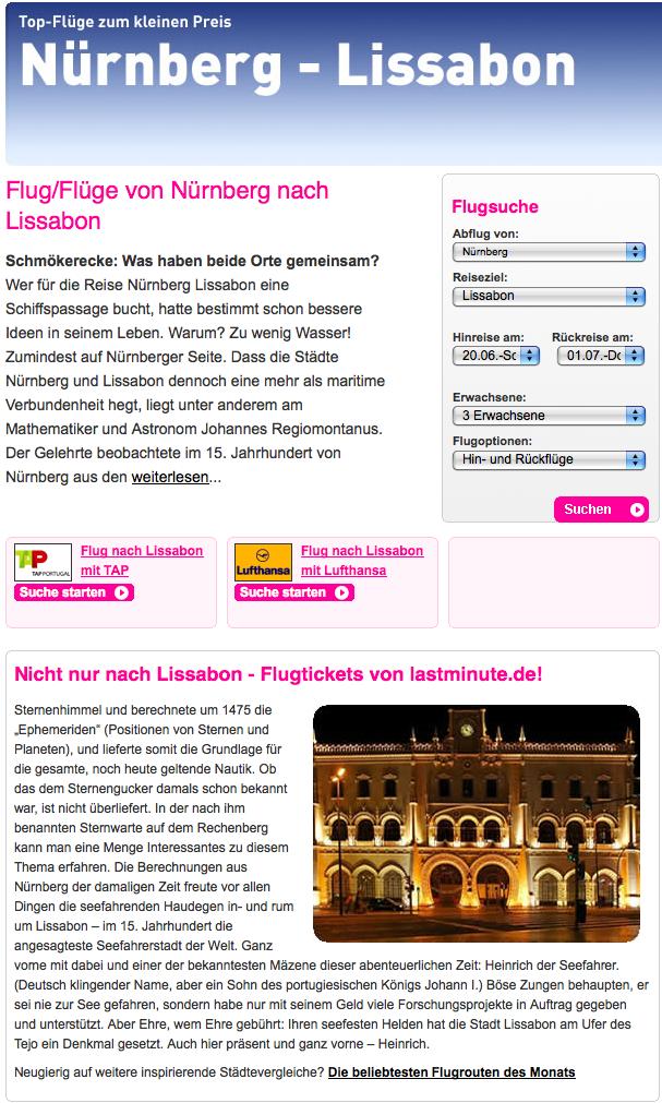 Nürnberg:Lissabon