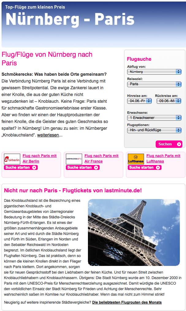 Nürnberg:Paris