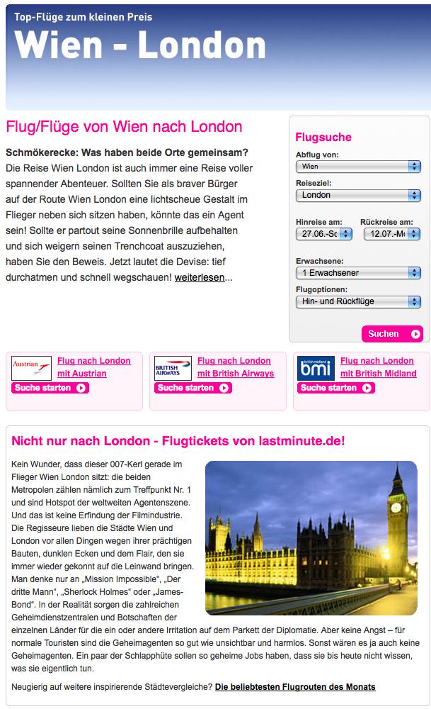 Wien:London