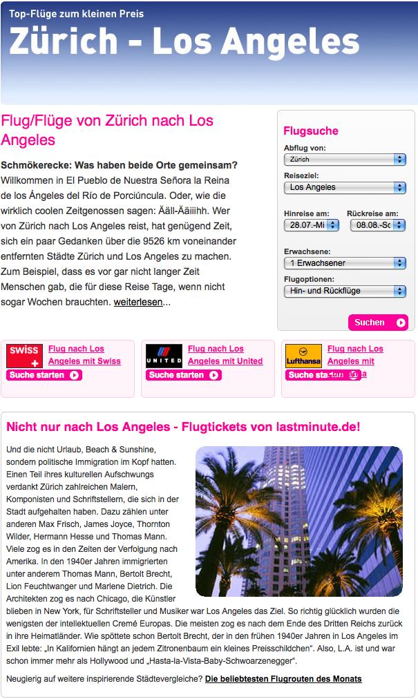 Zürich:LosAngeles